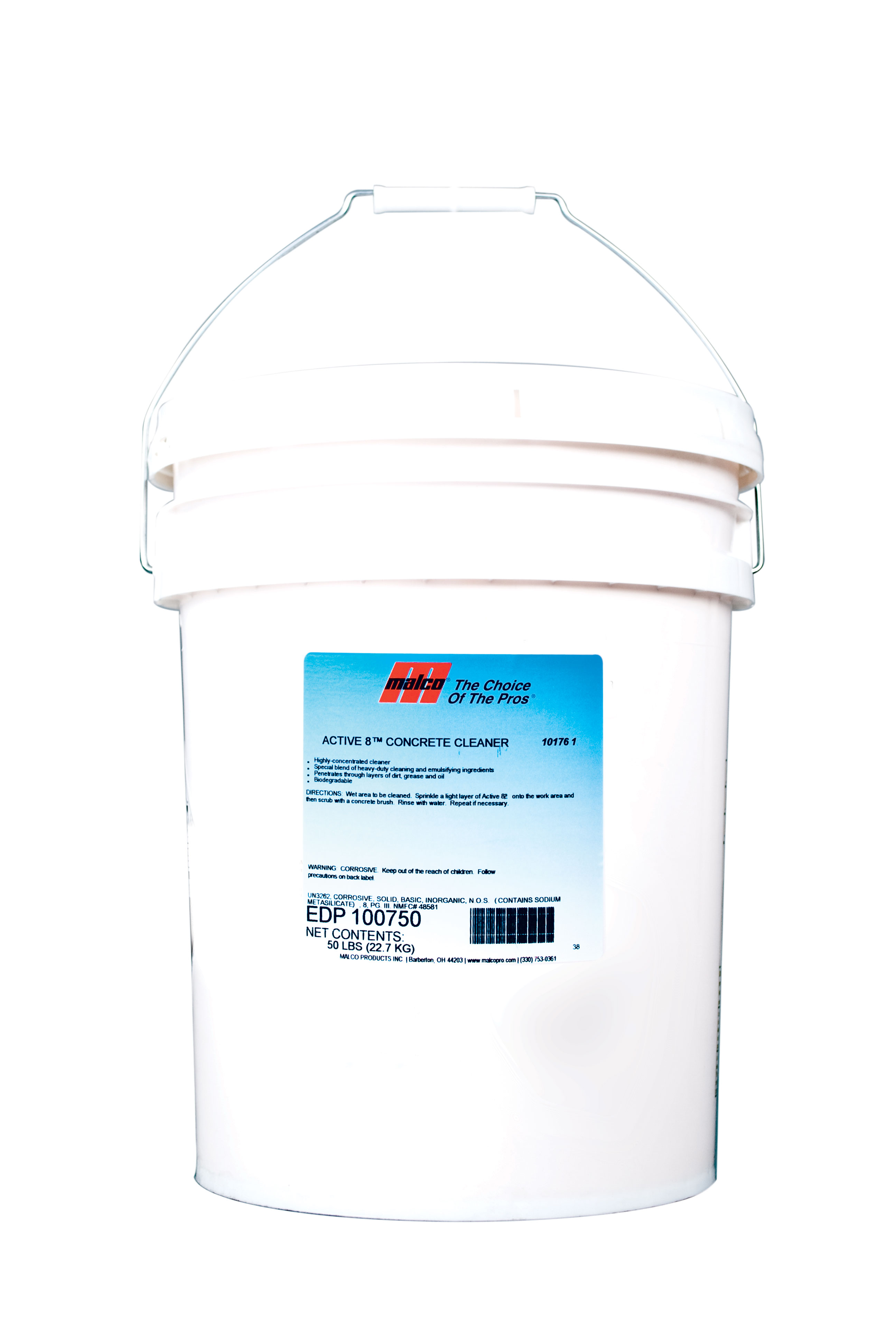 Active 8 concrete cleaner for Powder concrete cleaner