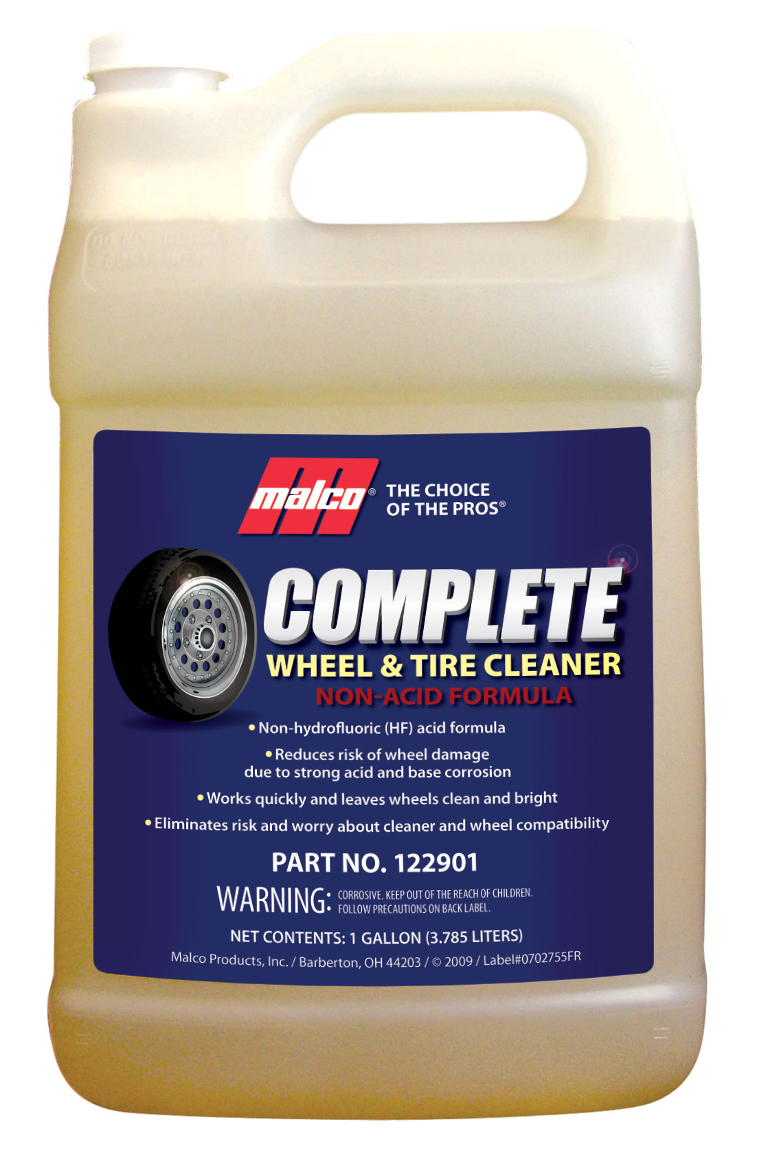 Complete Wheel Amp Tire Cleaner Non Acid Formula