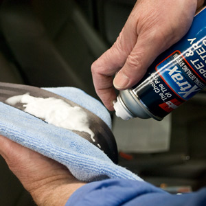 Spray The Belt With Xtrax Carpet Upholstery Cleaner And Allow Dwell Time Enough Product On Seatbelt To Thoroughly Saturate